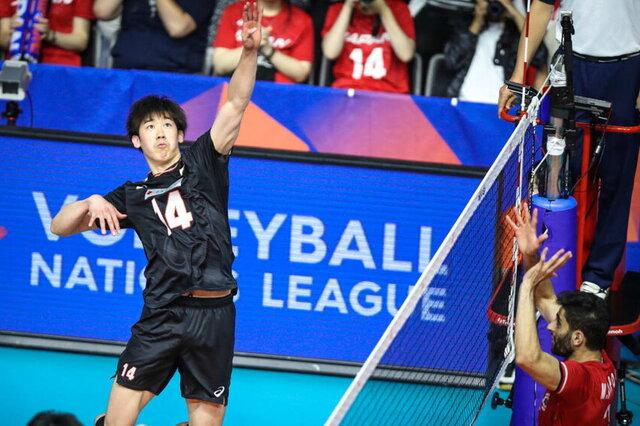 نتیجه بازی والیبال ایران با ژاپن در فینال قهرمانی آسیا 2021