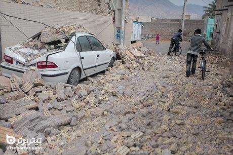 فیلم| اولین تصاویر زلزله بوشهر در 29 فروردین 1400