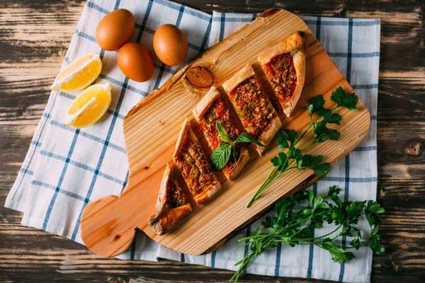 یکی از غذاهای کشور ترکیه: