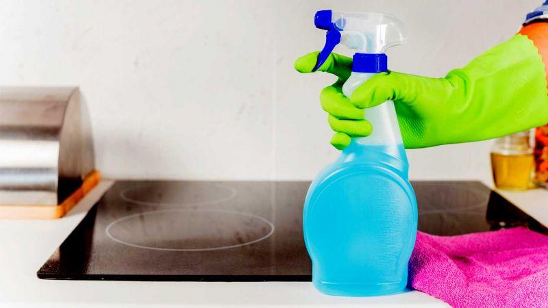 روش های ساده تمیز کردن اجاق گاز شیشه ای با مواد اولیه خانه