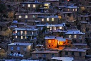 عکسی زیبا از روستای پالنگان