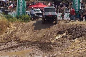 نمایی از مسابقات آفرود کشوری در قزوین