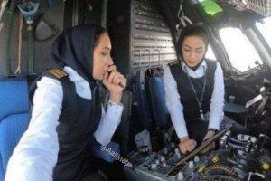 کاپیتانی دو زن برای نخستین بار در صنعت پرواز ایران+جزییات