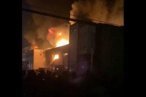 دلیل آتش سوزی کارخانه میهن