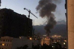 ماجرای آتش سوزی در کلینیک درمانی شمال تهران + فیلم