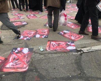 تصاویری از حضور مردم در نمازجمعه امروز تهران