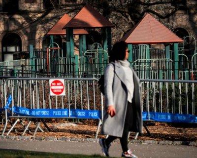 تصاویر تبدیل پارک مرکزی نیویورک به بیمارستان کرونا