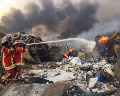 تصاویر دلخراش از تراژدی بندر بیروت
