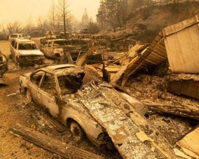 تصاویر دیدنی روز؛از نابودی کالیفرنیا تا بارش برف تابستانه در کلرادو