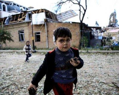 تصاویری دردناک از آخرین وضعیت جنگ قره باغ