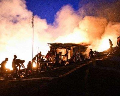 تصاویر دیدنی روز؛ از آتشسوزی در کنیا تا انتخابات بولیوی