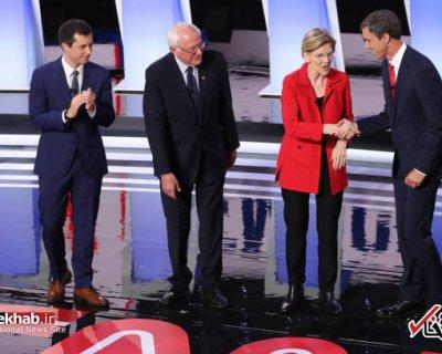 تصاویر : دومین مناظره تلویزیونی نامزدهای حزب دمکرات آمریکا