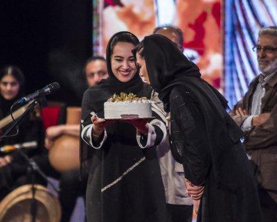 تصاویر جشن تولد پریناز ایزدیار در جشن خانه سینما