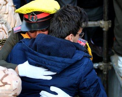 تشییع شهدای حادثه سقوط هواپیمای اوکراینی