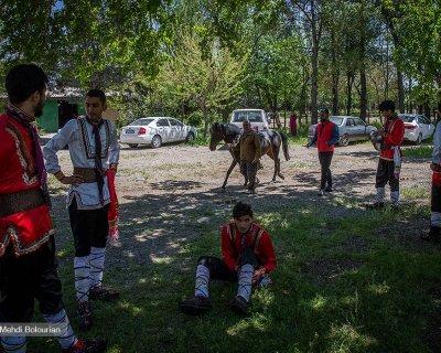 حراج اسب به نفع سیل زدگان