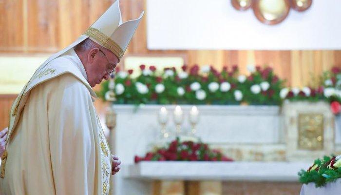 تصاویری از حواشی سفر پاپ فرانسیس به عراق