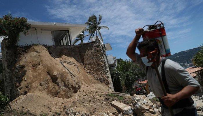 تصاویر زلزله در جنوب غربی مکزیک در سپتامبر 2021