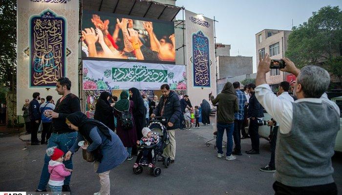 شب نیمه شعبان در تهران